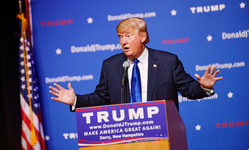 Donald Trump, New Hampshire Town Hall, Derry, Michael Vadon