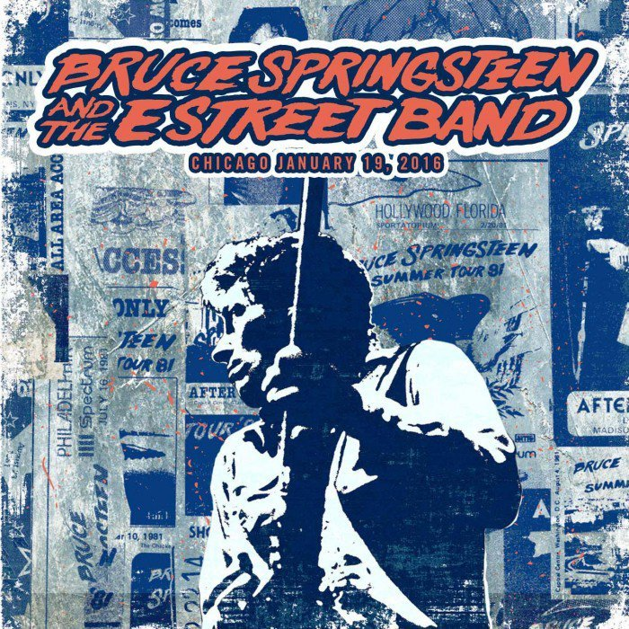 Bruce Springsteen, E Street Band, 19 January 2016, Chicago, free download