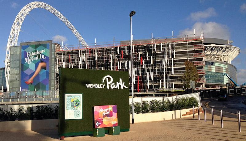Wembley Park, diamond geezer
