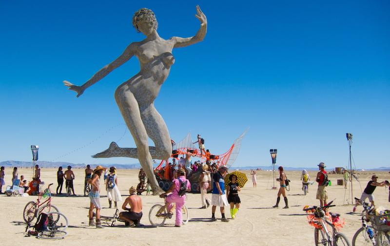 Burning Man 2010, Geoff Stearns