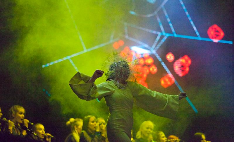 Björk, Berlin Festival 2013, Tempelhof, Toni Rosado