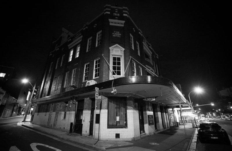 Closed bar, Sydney, Matt Barrie
