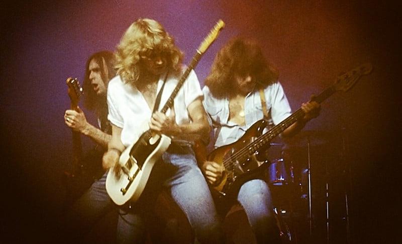 Status Quo, Hammersmith Odeon, 1978, Dhphoto
