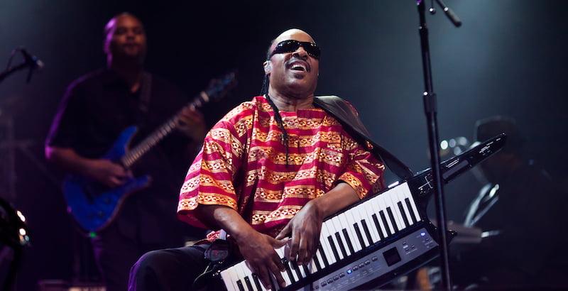 Stevie Wonder, Thomas Hawk