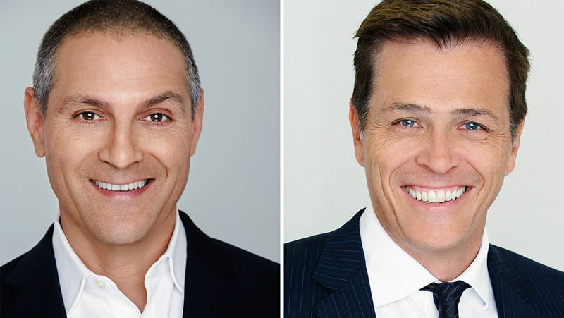 WME IMG co-CEOs Ari Emanuel and Patrick Whitesell welcome new investor SoftBank