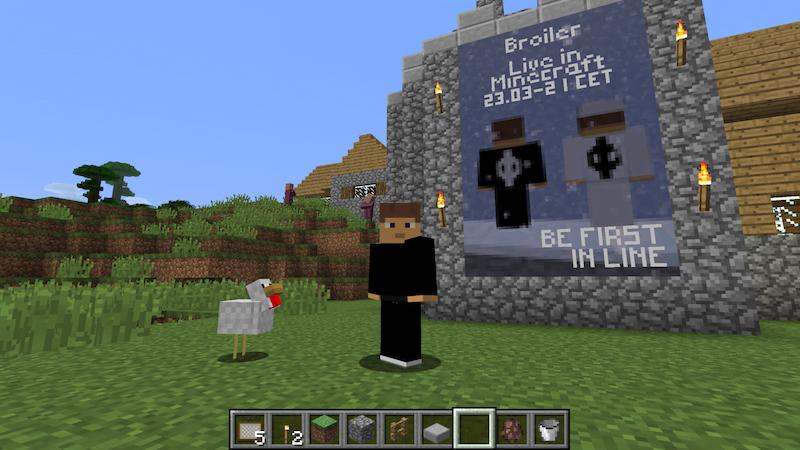 Broiler, Minecraft, The Gathering, Heisholt Inc.