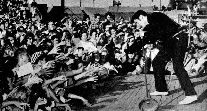 Elvis Presley, Mississippi-Alabama Fairgrounds, Tupelo, 26 September 1956