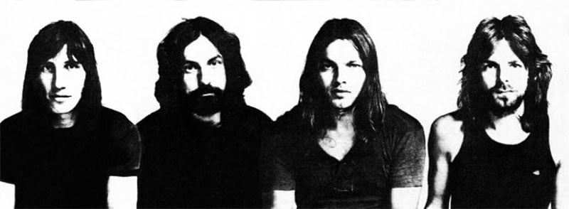 Pink Floyd, 1971, Roger Waters, Nick Mason, David Gilmour, Rick Wright