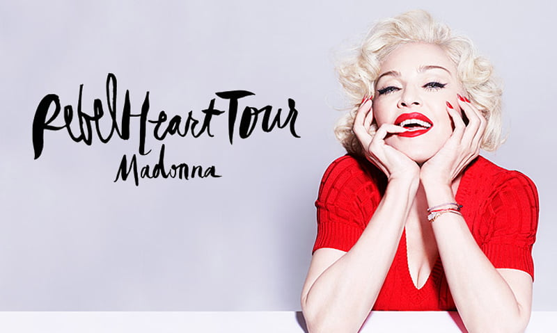 Madonna's Rebel Heart tour cements her place as top earning solo act