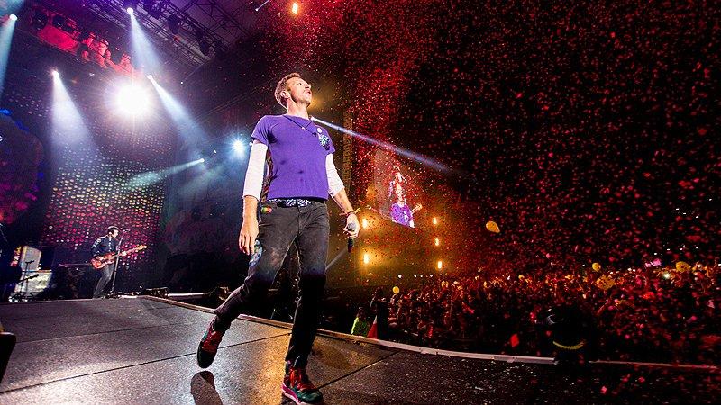 Chris Martin, Coldplay, National Stadium (Estadio Nacionale), Santiago, Chile, Sunday 3 April 2016, Claudio Poblete, Foro Sol, Mexico City