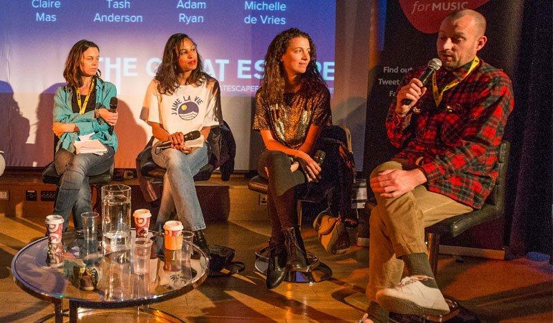 Claire Mas, Tash Anderson, Adam Ryan, Michelle de Vries, The Great Escape (TGE) Convention 2015