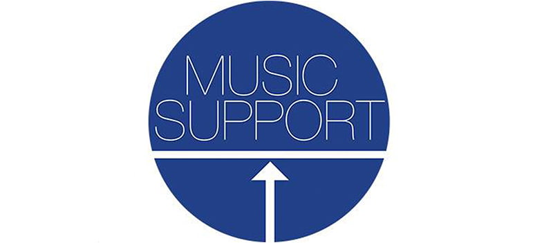 Music Support logo