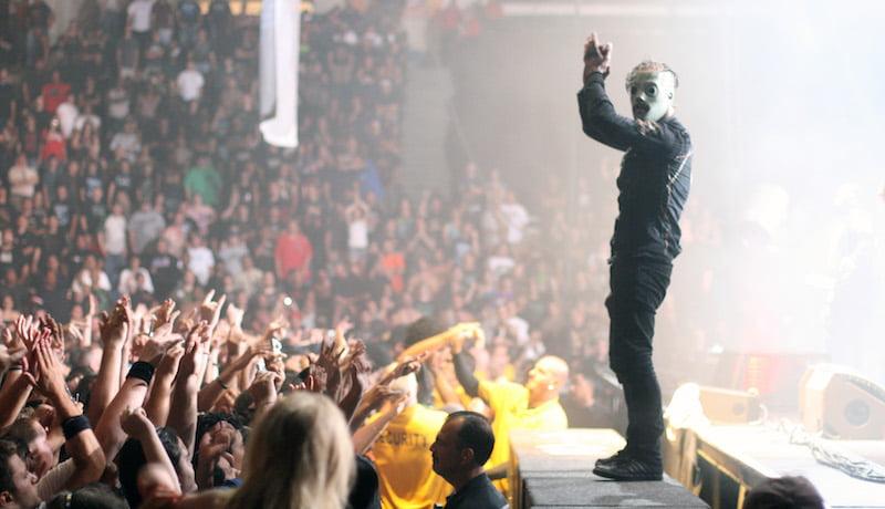 Corey Taylor, Slipknot, Mayhem Festival 2008, Bill Shouldis