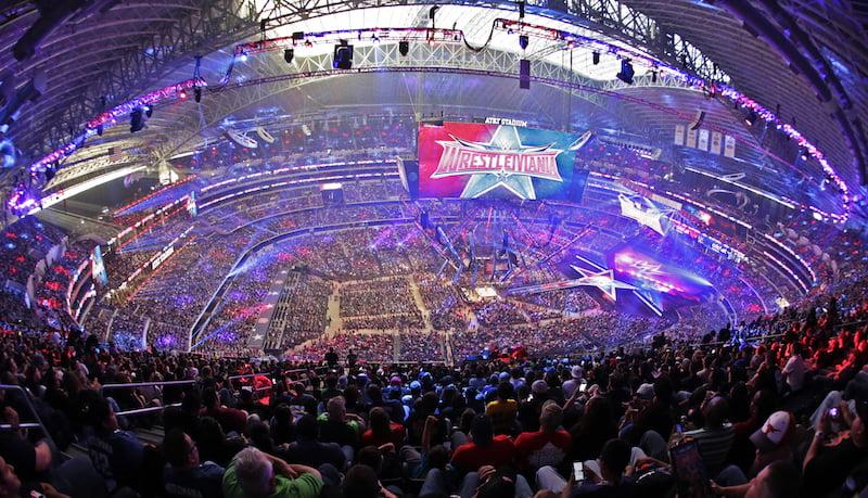 WrestleMania 32, WWE, AT&T Stadium, Arlington