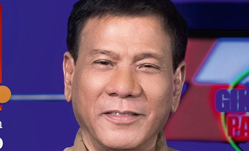 President Rodrigo 'Rody' Duterte