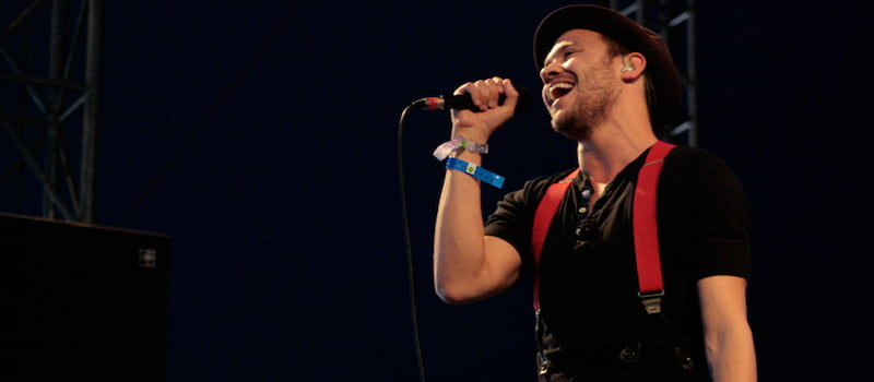 Will Young, Isle of Wight Festival 2009, Richard Heaven