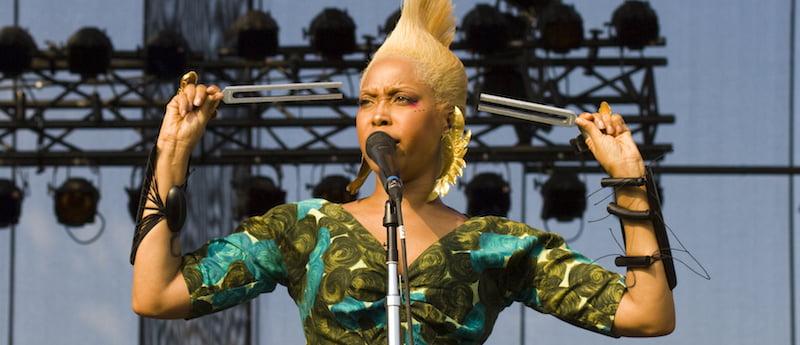 Erykah Badu, Lollapalooza 2010, Kate Gardiner