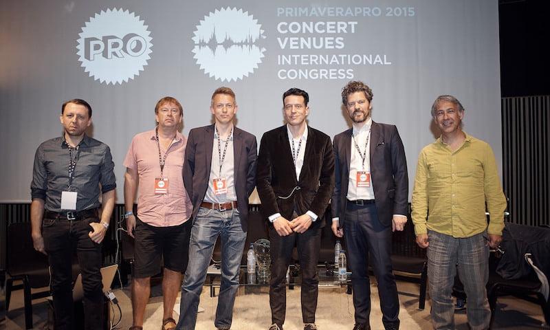 James Minor, Mark Davyd, Paul Broadhurst, Carles Sala, Chris Garrit, Dagur B. Eggertsson, International Congress of Concert Venues, PrimaveraPro, MACBA, Barcelona, Paco Amate