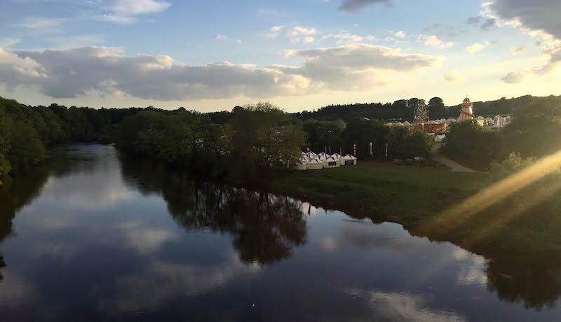 HowTheLightGetsIn festival site, Hay-on-Wye