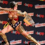 Wonder Woman cosplay, New York Comic Con 2014, Richie S