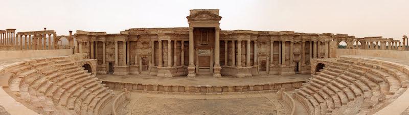 Roman Theatre, Palmyra, Guillaume Piolle