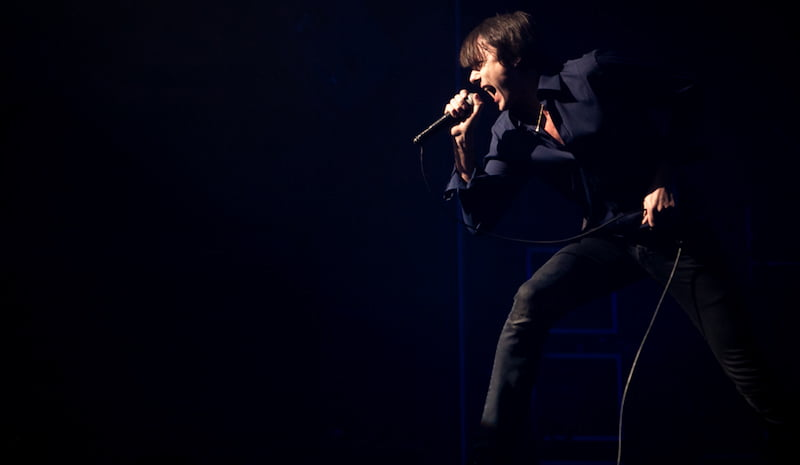 Brett Anderson, Suede, Ancienne Belgique, February 2016, Olivier Bourgi, Tramlines
