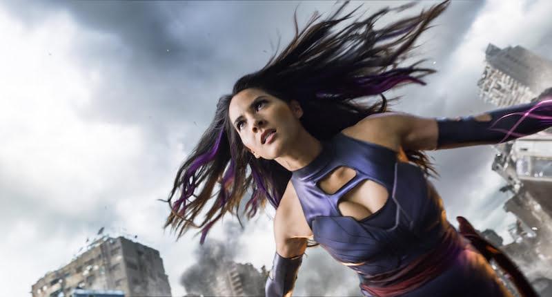 Olivia Munn, X-Men: Apocalypse, 20th Century Fox, Fandango, Snapchat
