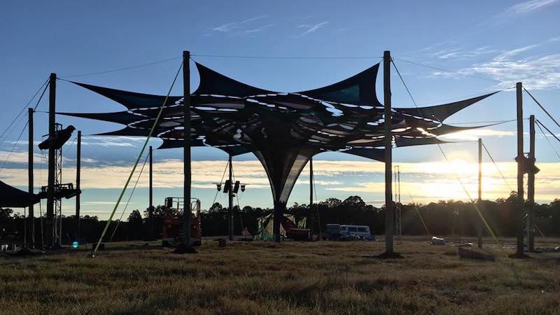 Omega Festival site, Newton Boyd