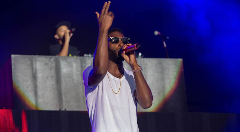 Tinie Tempah, Sundown 2014, Chris Thompson