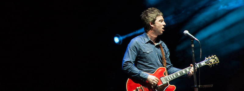 Noel Gallagher's High Flying Birds, Summer Arena Assago, Milan, Massimiliano Motta