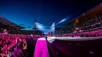 Cheek, Olympic Stadium, Helsinki, Finland, Warner Music Live, Ralph Larman