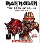 Eddie the Head, Iron Maiden, Book of Souls world tour, Kaunas, Live Nation Latvia