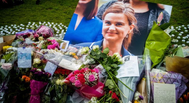 Jo Cox memorial, Parliament Square, London, Garry Knight