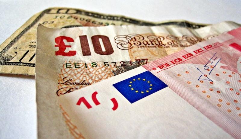 Dollar, pound, euro, Brexit EU referendum, TaxRebate.org.uk