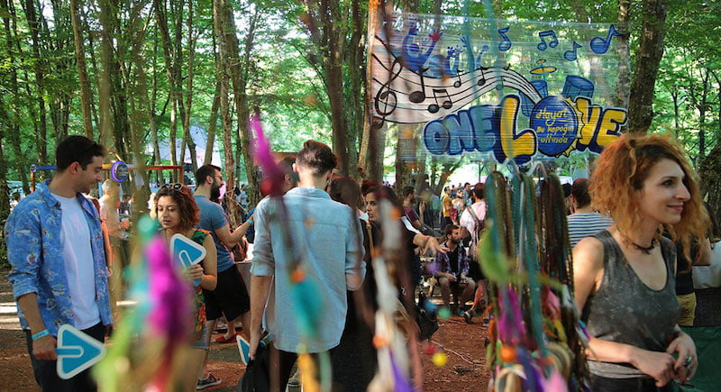 One Love Festival 2014, Pozitif Live, Parkorman, Istanbul, Turkish coup
