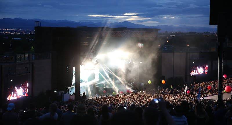 Fiddlers Green Amphitheatre, AEG Live Rocky Mountains, metal detectors