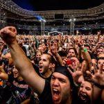 Iron Maiden fans, Allianz Parque stadium, 26 March 2016, Move Concerts Brasil