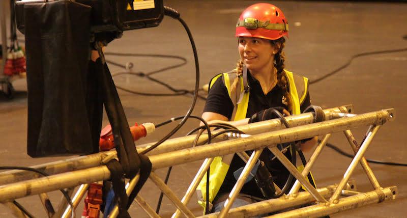 Trainee rigger, Trailblazer rigging apprenticeship trial day