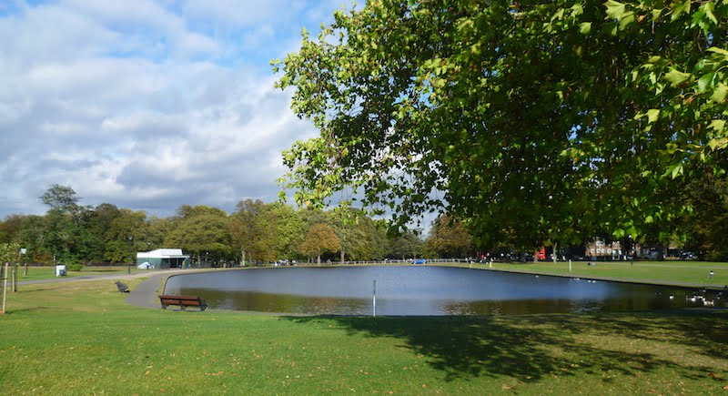 Clapham Common, Marathon