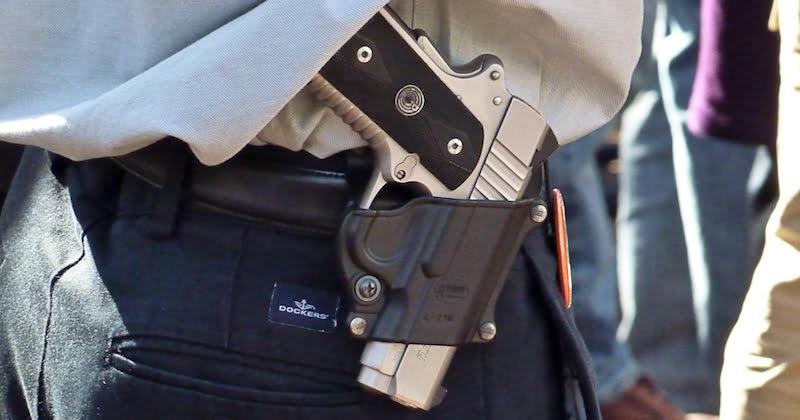 Openly carried gun, Richmond, Virginia, Michael Tefft