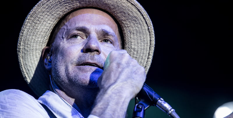 Gord Downie, The Tragically Hip, Cobourg, 2013, David Bastedo