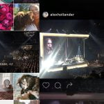 Adele concert, Instagram Events