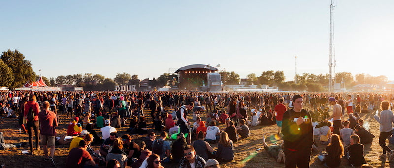 Dour Festival, Simon Grossi