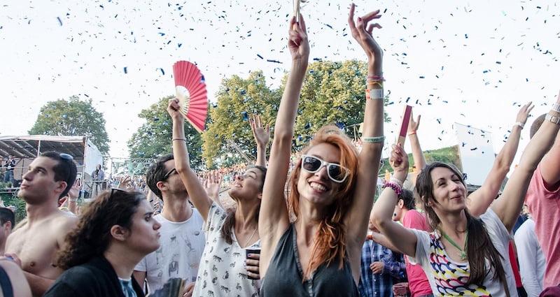 Happy crowd, Exit festival 2013, Bernard Bodo