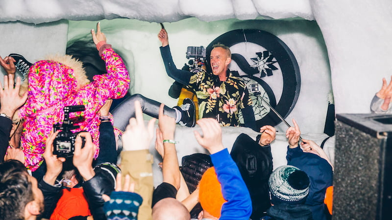 Fatboy Slim, Snowbombing 2016, Richard Johnson/Fanatic