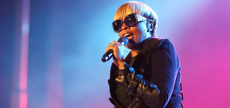 Mary J. Blige, Bumbershoot 2010, Amber/musicisentropy