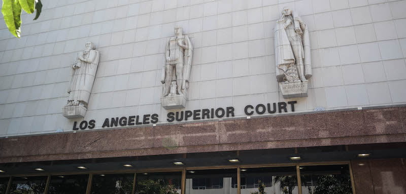 Stanley Mosk Courthouse, Los Angeles, Visitor7, APA/Gersh/Garrett Smith suit