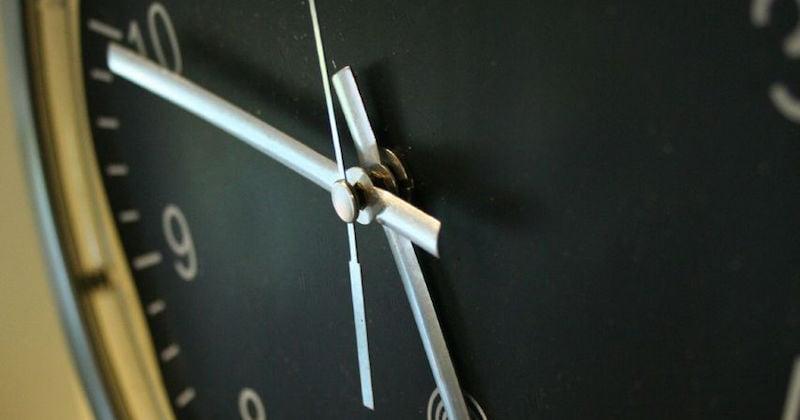 Overtime clock, Sam Greenhalgh