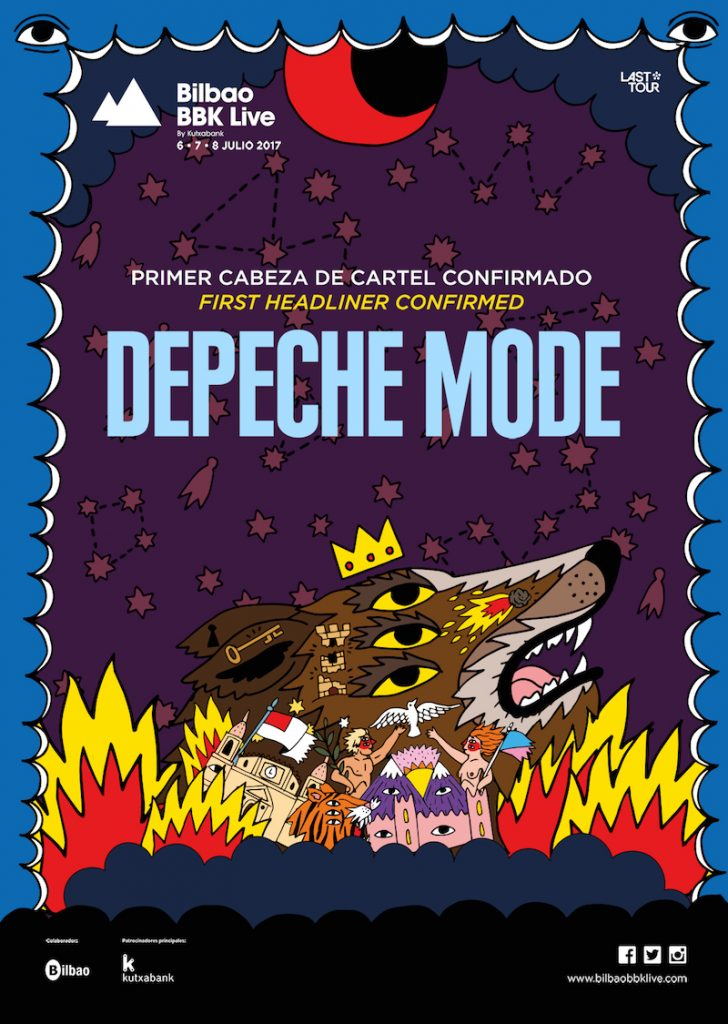 Bilbao BBK Live, Depeche Mode announcement