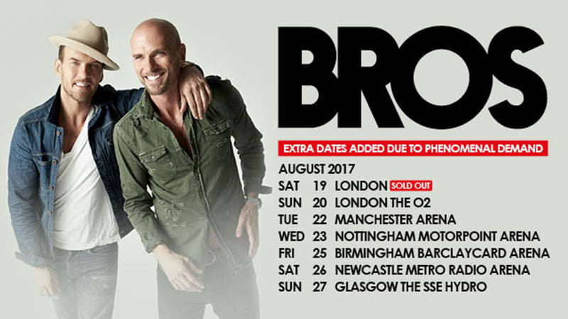 Bros 2016 tour